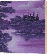 Purple Palace For Sale Wood Print