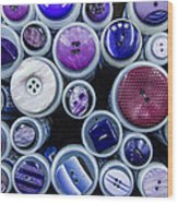 Purple Palate Wood Print
