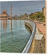 Putra Mosque Wood Print