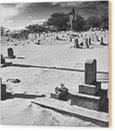 Puupiha Cemetery Lahaina Maui Wood Print