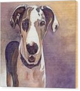 Puzzle The Great Dane Wood Print