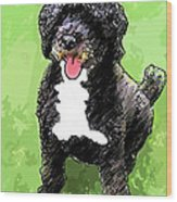 Pw Dog Wood Print