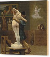 Pygmalion And Galatea Wood Print