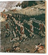 Pyle: Battle Of Bunker Hill Wood Print