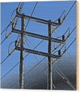 Pylon 21a Wood Print