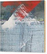 Pyramid Cloud Wood Print