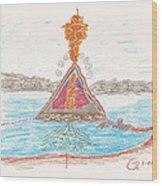 Pyramid Lake - Nevada Wood Print
