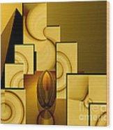 Pyramid Of Possibilities Wood Print