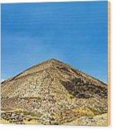 Pyramid Of The Sun Wood Print