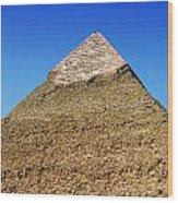 Pyramids Of Giza 15 Wood Print by Antony McAulay