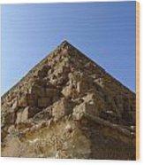 Pyramids Of Giza 20 Wood Print