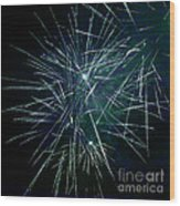 Pyrotechnic Delight Wood Print