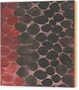 Python Wood Print