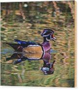 Quack Wood Print