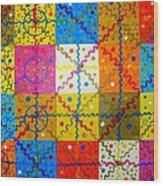 Quadratura Del Cerchio Wood Print
