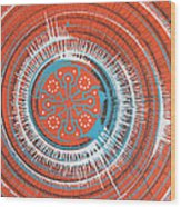 Quadrospora Wood Print