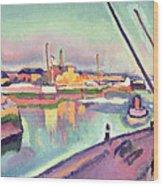 Quai Notre Dame Le Havre Wood Print