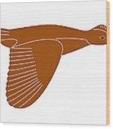 Quail Wood Print