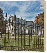 Quaker Meeting House - Warrington Wood Print