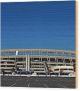 Qualcomm Stadium Wood Print