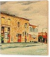 Quantrill's Flea Market - Lawrence Kansas Wood Print
