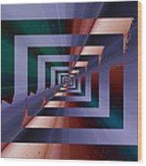 Quantum Conundrum Wood Print by Tim Allen