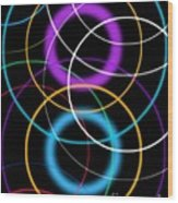 Quantum Physics, Conceptual Artwork Wood Print