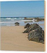 Quarry Beach 05 Wood Print