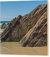 Quarry Beach 08 Wood Print