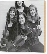 Quartet Of Muses Wood Print
