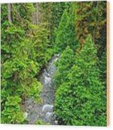 Quartz Creek Wood Print