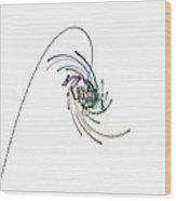 Quaternionic Blow 1 Wood Print