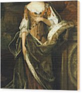Queen Anne Of England (1665-1714) Wood Print