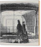 Queen Annes Bath Wood Print