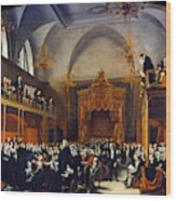 Queen Caroline Trial, 1820 Wood Print