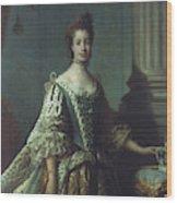 Queen Charlotte (1744-1818) Wood Print