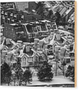 Queen City Winter Wonderland After The Storm Series 0028a Wood Print