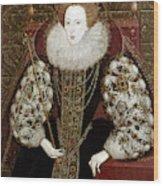 Queen Elizabeth I (1533-1603) Wood Print