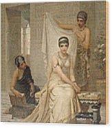 Queen Esther Wood Print
