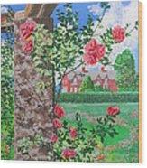 Queen Gardens In Belfast Wood Print