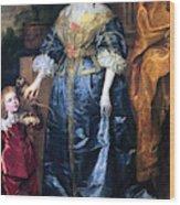 Queen Henrietta Maria (1609-69) Wood Print