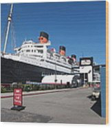 Queen Mary - 12123 Wood Print