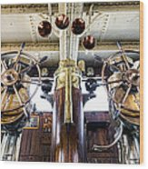 Queen Mary Bridge Wood Print