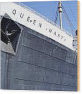 Queen Mary Wood Print