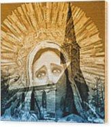 Queen Of Angels Wood Print