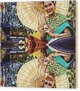 Queen Of Reflections Wood Print