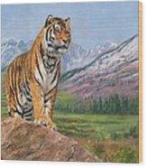 Queen Of Siberia Wood Print