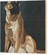 Queen Sheba Wood Print