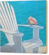 Queens Chair Wood Print