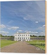 Queen's House In Greenwich Wood Print